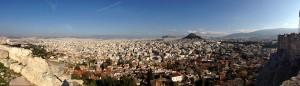 Athen von der Akropolis