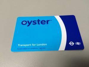Eine Oystercard