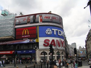 Piccadilly Circus 2005