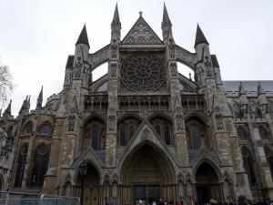 Nordportal und Haupteingang der Westminster Abbey