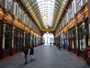Leadenhall Market bzw. die Winkelgasse aus Harry Potter