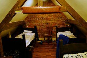 Das Doppelzimmer in der Palmers Lodge
