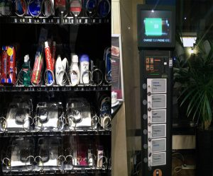 """Der """"vergessen"""" Automat und die Handyladestation"""