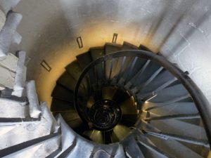 311 Stufen geht es hinauf