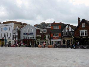 Der Marktplatz von Salisbury
