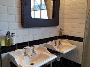 Das Interieur im WC