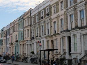 Fassaden von Notting Hill