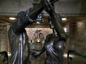Dodi & Diana Memorial im Untergeschoss