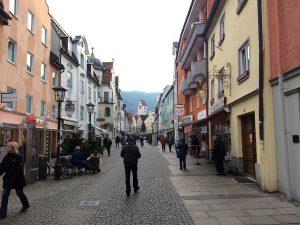 Die Altstadt in Füssen