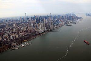 Auf der Höhe des Central Parks geht es wieder zurück