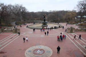 Der Bethesda Fountain am südlichen Ende des Central Parks
