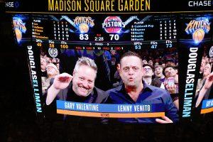 Gary Valentine und Lenny Venito bei den New York Knicks