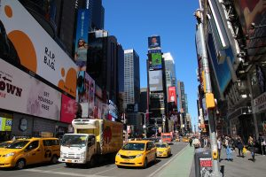 Am Times Square in New York