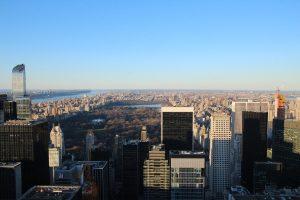 Blick auf den Central Park, Harlem und Upper Mannhattan