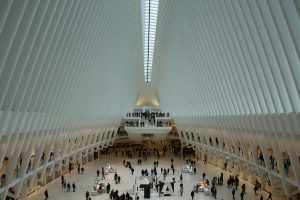 "Der Bahnhof des World Trade Center ""The Oculus"""