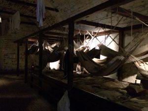 Das alte Gefängnis im Edinburgh Castle