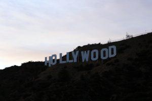 Das berühmte Hollywood Zeichen